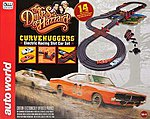 HO Dukes of Hazzard 14' Racing Set w/Jumps