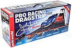 HO 2017 Chevy Camaro John & Courtney Force NHRA Pro Drag Slot Car 13' Racing Set