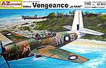 Vultee Vengeance Mk I RAAF Light Bomber -- Plastic Model Airplane Kit -- 1/48 Scale -- #4813