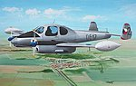 LET L200A/D Morava Military Aircraft -- Plastic Model Airplane Kit -- 1/72 Scale -- #7352