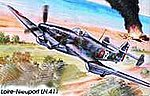 Loire Nieuport LN411 French Navy WWII Dive Bomber -- Plastic Model Airplane Kit -- 1/48 -- #21
