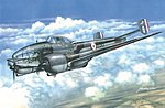 Potez 63-11 WWII French Recon Aircraft -- Plastic Model Airplane Kit -- 1/48 Scale -- #59