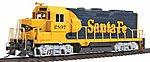 GP35 Santa Fe War Bonnet 2897 -- HO Scale Model Train Diesel Locomotive -- #11517