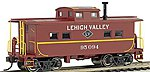 NE Steel Caboose Lehigh Valley #95094 -- HO Scale Model Train Freight Car -- #16815