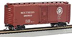 PS1 40' Boxcar Southern -- HO Scale Model Train Freight Car -- #17004