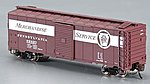 AAR 40' Steel Box PRR Merchandise Service -- N Scale Model Train Freight Car -- #17052