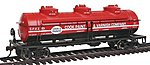 40' 3-Dome Tank Car Cook Paint & Varnish Co. CPVX -- HO Scale Model Train Freight Car -- #17145