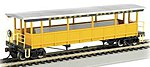 Open Sided Excursion Car Durango & Silverton -- HO Scale Model Train Passenger Car -- #17432