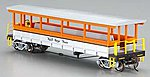 Open-Sided Excursion Car Royal Gorge -- HO Scale Model Train Passenger Car -- #17435
