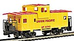 36' Wide Vision Caboose Union Pacific -- HO Scale Model Train Freight Car -- #17701