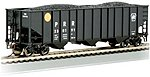 Bethlehem Steel 3-Bay 100-Ton Open Hopper Pennsylvania -- HO Scale Model Train Freight Car -- #18714