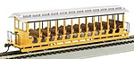 Jackson Sharp Excursion Car Painted Unlettered -- HO Scale Model Train Passenger Car -- #19348