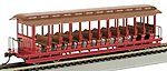 Jackson Sharp Excursion Car Painted Unlettered -- HO Scale Model Train Passenger Car -- #19349
