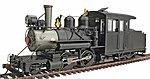 Baldwin Forney Inside-Frame 2-6-0 Mogul Painted -- O Scale Model Train Steam Locomotive -- #25479
