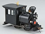 Porter 0-4-0 w/DCC Painted, Unlettered -- On30 Scale Model Trian Steam Locomotive -- #28099