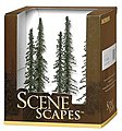 Conifer Trees 5-6 (6) -- Model Railroad Scenery -- #32003
