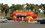 Resin Hot Dog Stand Kit -- HO Scale Model Railroad Building -- #35206