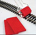 Hand-Held Track Cleaner -- Model Train Track Accessory -- #39013