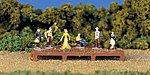 Old West Figures -- HO Scale Model Railroad Figure -- #42335
