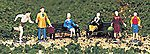 People at Leisure (6) -- HO Scale Model Railroad Figure -- #42339