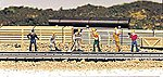 Train Work Crew -- HO Scale Model Railroad Figure -- #42341