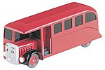 Thomas- Bertie The Bus -- HO Scale Thomas-the-Tank Electric Accessory -- #42442