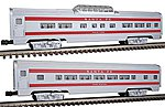Passenger Add-On - Santa Fe -- O Scale Model Train Passenger Car -- #43048