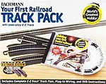 E-Z Steel Alloy World's Greatest Track Pack -- HO Scale Track Steel -- #44497