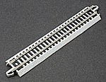 5'' Straight Nickel Silver Track (Bulk Ctn. 50pcs) -- N Scale Nickel Silver Model Train -- #44881