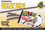 World's Greatest Hobby Track Pack NS -- N Scale Nickel Silver Model Train Track -- #44896