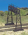 Signal Bridge Snap Kit -- HO Scale Model Railroad Bridge -- #45134