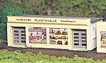Hardware Store Kit -- HO Scale Model Railroad Building -- #45143