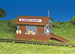 Freight Station Kit -- HO Scale Model Railroad Building -- #45171