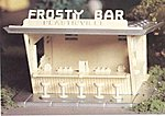 Frosty Bar Kit -- O Scale Model Railroad Building -- #45606