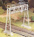 Signal Bridge Kit -- O Scale Model Railroad Bridge -- #45623