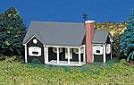 New England Ranch House Built-Up -- N Scale Model Railroad Building -- #45814