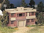 Apartment Building Kit -- O Scale Model Railroad Building -- #45980