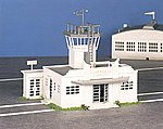 Airport Terminal Kit -- O Scale Model Railroad Building -- #45985