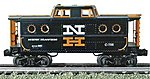 N5C Porthole Caboose - 3-Rail New Haven #C-706 -- O Scale Model Train Freight Car -- #47714