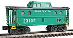 N5C Porthole Caboose - 3-Rail Penn Central #23107 -- O Scale Model Train Freight Car -- #47717