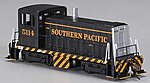 GE 70T Southern Pacific #5114 (Black/Orange) -- HO Scale Model Train Diesel Locomotive -- #60613