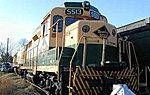 GP30 Reading #5516 -- HO Scale Model Train Diesel Locomotive -- #60801