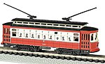 Brill Trolley Chicago -- N Scale Model Railroad -- #61091