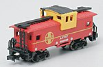 36' Wide Vision Caboose Santa Fe -- N Scale Model Train Freight Car -- #70752