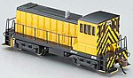 GE 70-Tonner w/DCC Painted, Unlettered -- N Scale Model Train Diesel Locomotive -- #82054