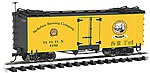 Reefer Berkshire Brewing Co. Golden Spike -- G Scale Model Train Freight Car -- #93265