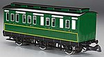 Rolling Stock - Emily's Brake Coach -- G Scale Model Train Passenger Car -- #97004