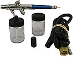Heavy Head Deluxe Ceramic Airbrush -- Airbrush and Airbrush Set -- #2008