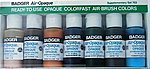 Air-Opaque Paints Supplement Set 1oz. Bottles -- Model Airbrush Acrylic Paint Set -- #703s