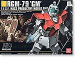 20 RGM-79 GM HG -- Snap Together Plastic Model Figure -- #101787